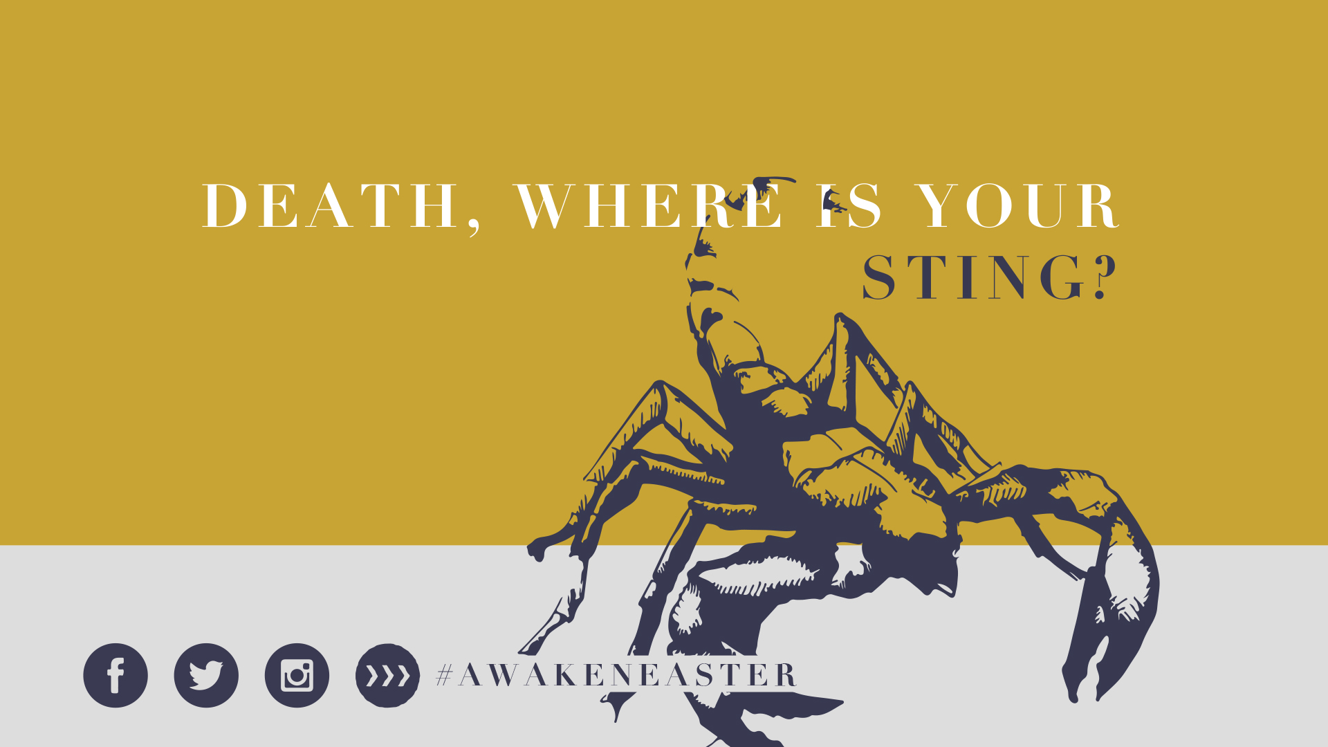 Death, Where Is Your Sting?